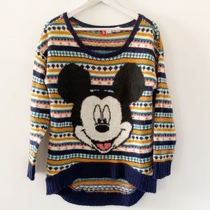Disney x H&M collab Mickey Mouse mohair sweater